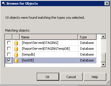 Create Database Audit 5