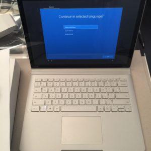 Surface Book 2 Review Setup