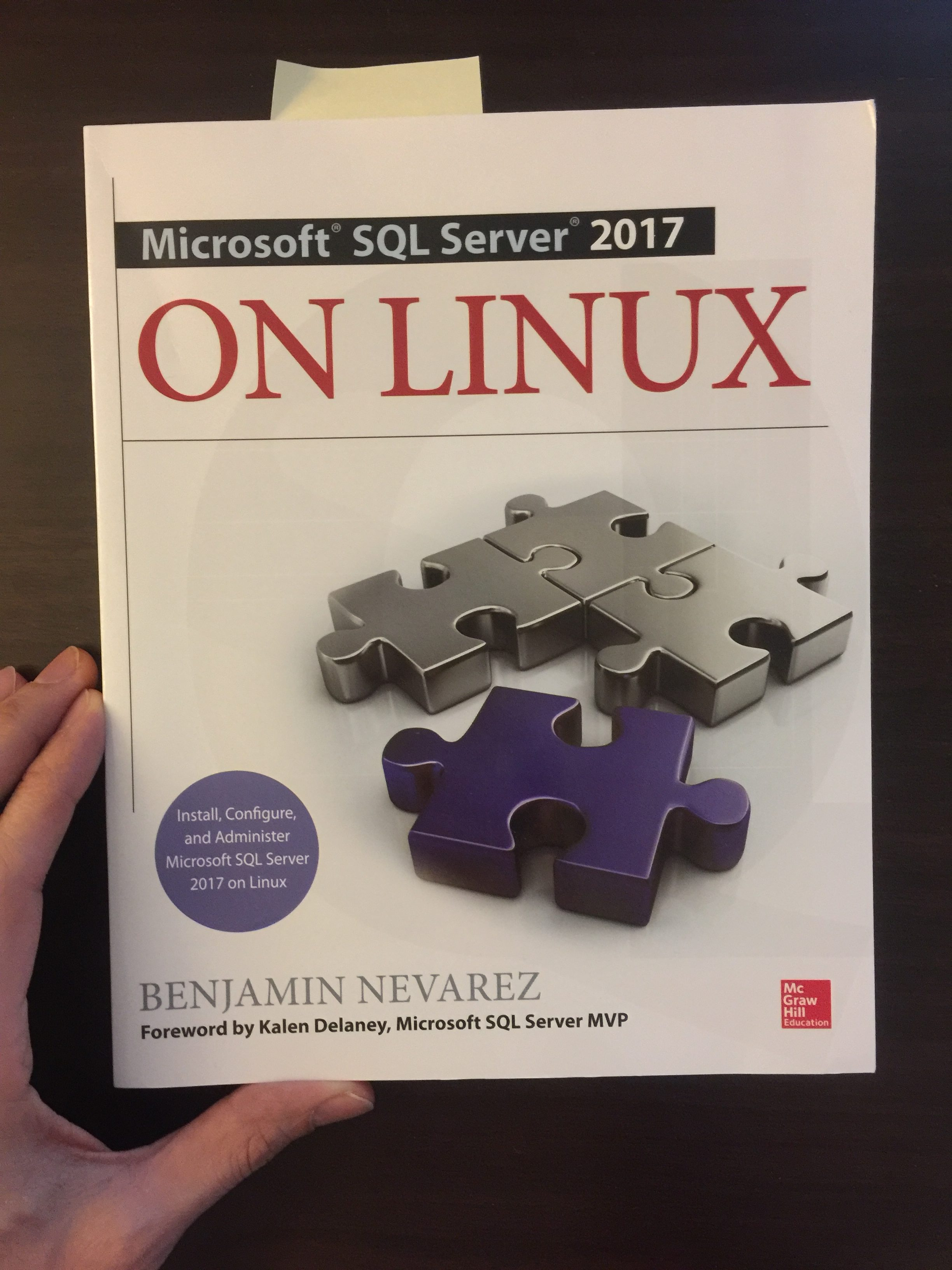Microsoft SQL Server 2017 on Linux by Benjamin Nevarez