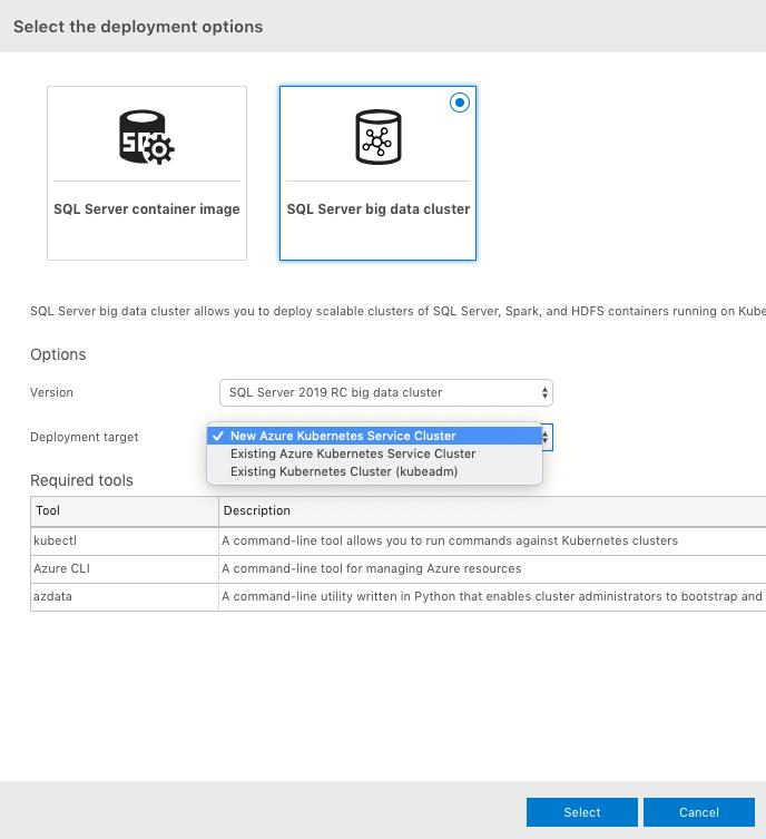 Deploy SQL Server Big Data Cluster Using Azure Data Studio Notebook